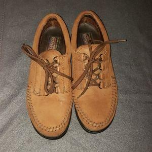 Dexter Walkmocs Brown Suede Shoes